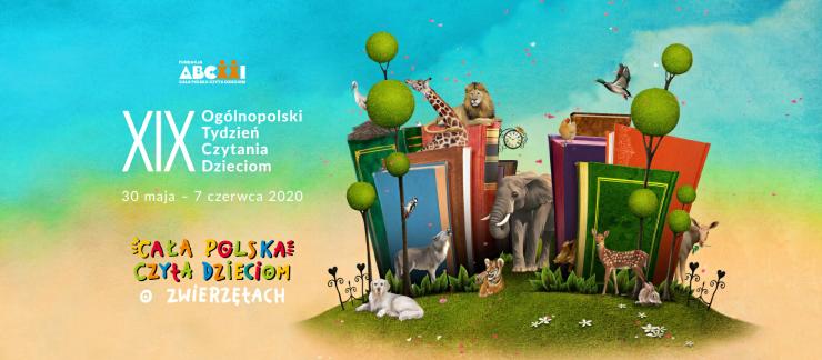 Plakat - Cała Polska czyta dzieciom